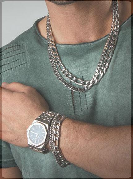 جواهرات نقره مردانه
