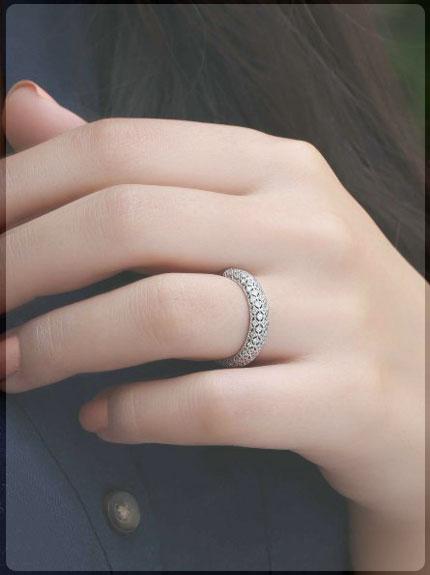جواهرات نقره زنانه