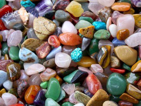 روشهای مختلف شارژ و پاکسازی سنگهای زینتی