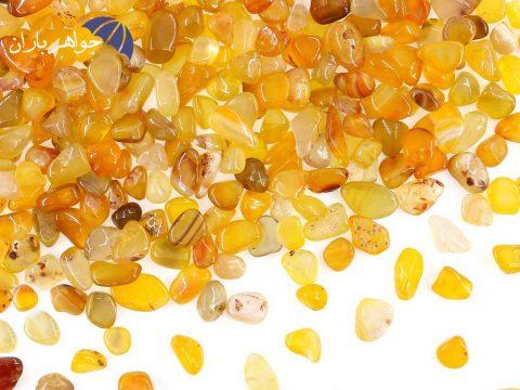 آشنایی با سنگ عقیق زرد