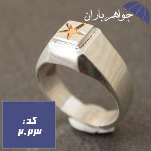 انگشتر نقره حرز امام جواد (ع)