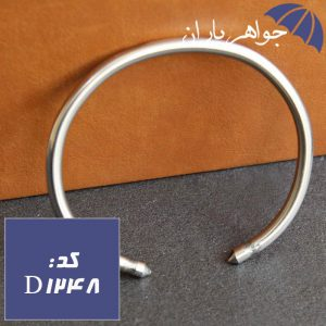 دستبند خلخال نقره ای