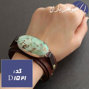 دستبند فیروزه نیشابوری شجری اصل درشت