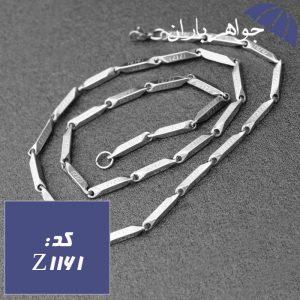 زنجیر استیل 55 سانت طرح ورساچی
