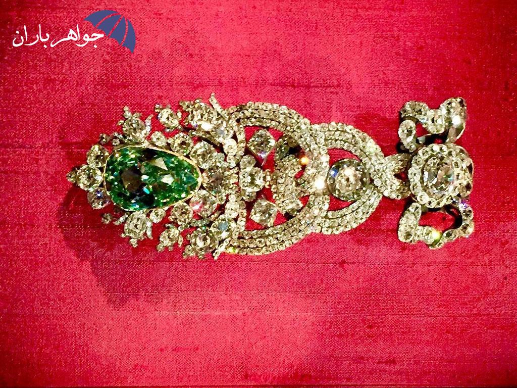 الماس درسدن، بزرگترین الماس سبز جهان