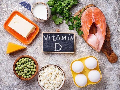علایم کمبود ویتامین D در بدن